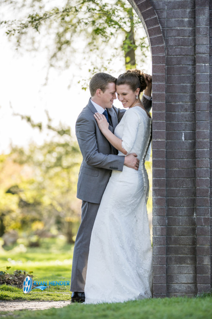 International peace gardens bridals wedding photography