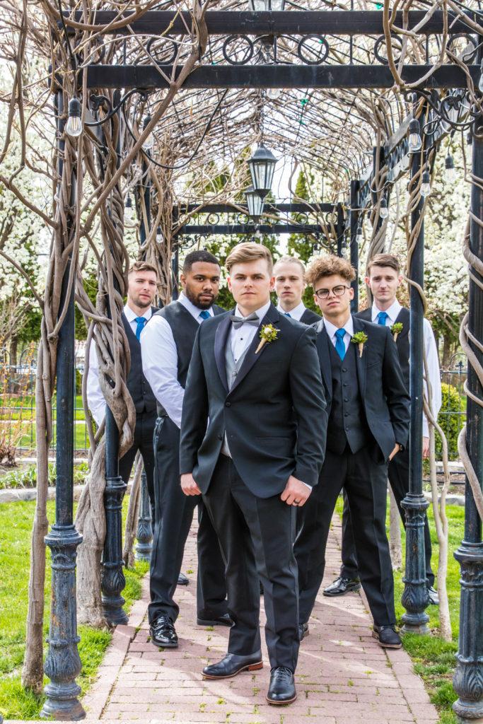 groomsmen wedding photography utah wedding