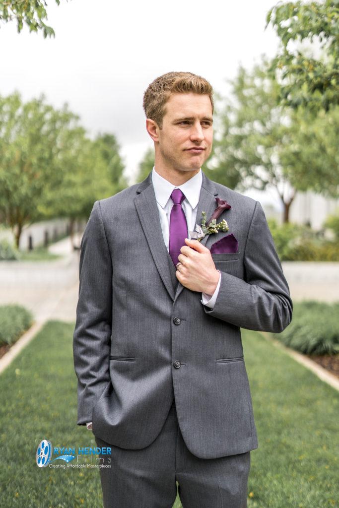 draper utah temple groom wedding photography utah