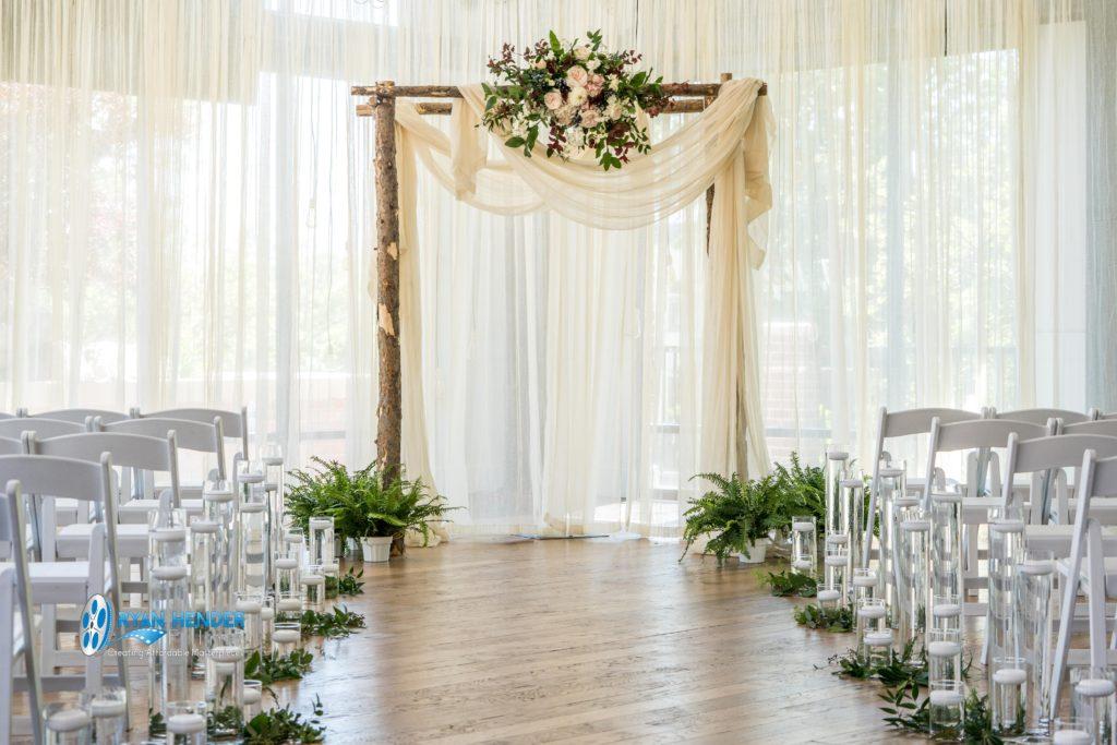 wedding arch wedding photography