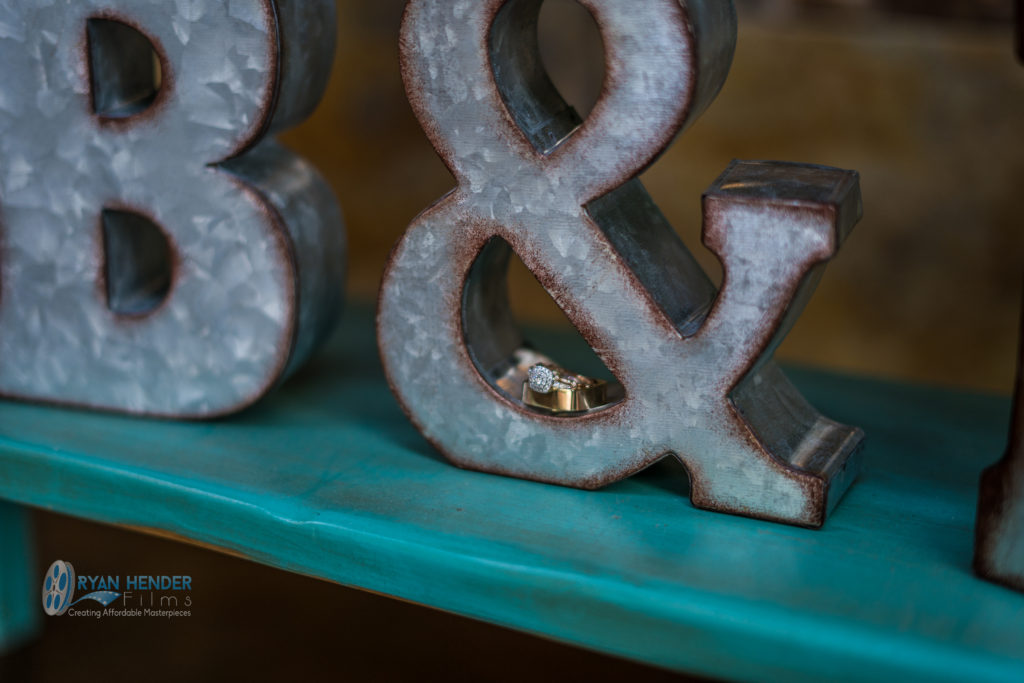 wedding ring photo and sign videography utah