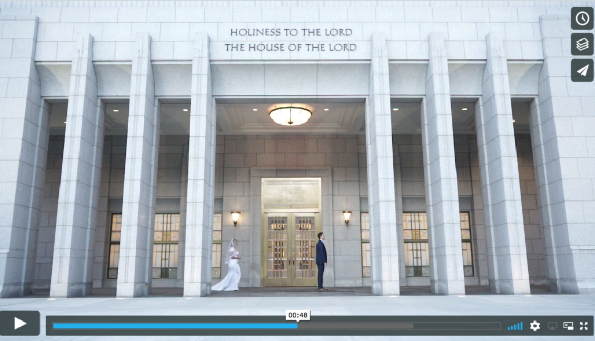 wedding videography first look videos utah
