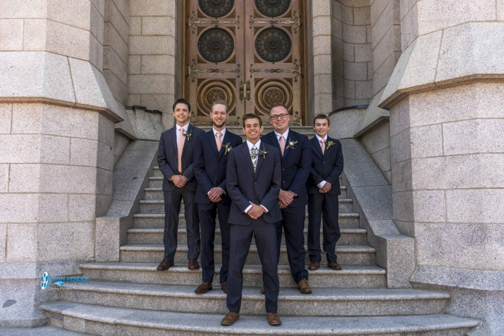 wedding photography salt lake city utah temple