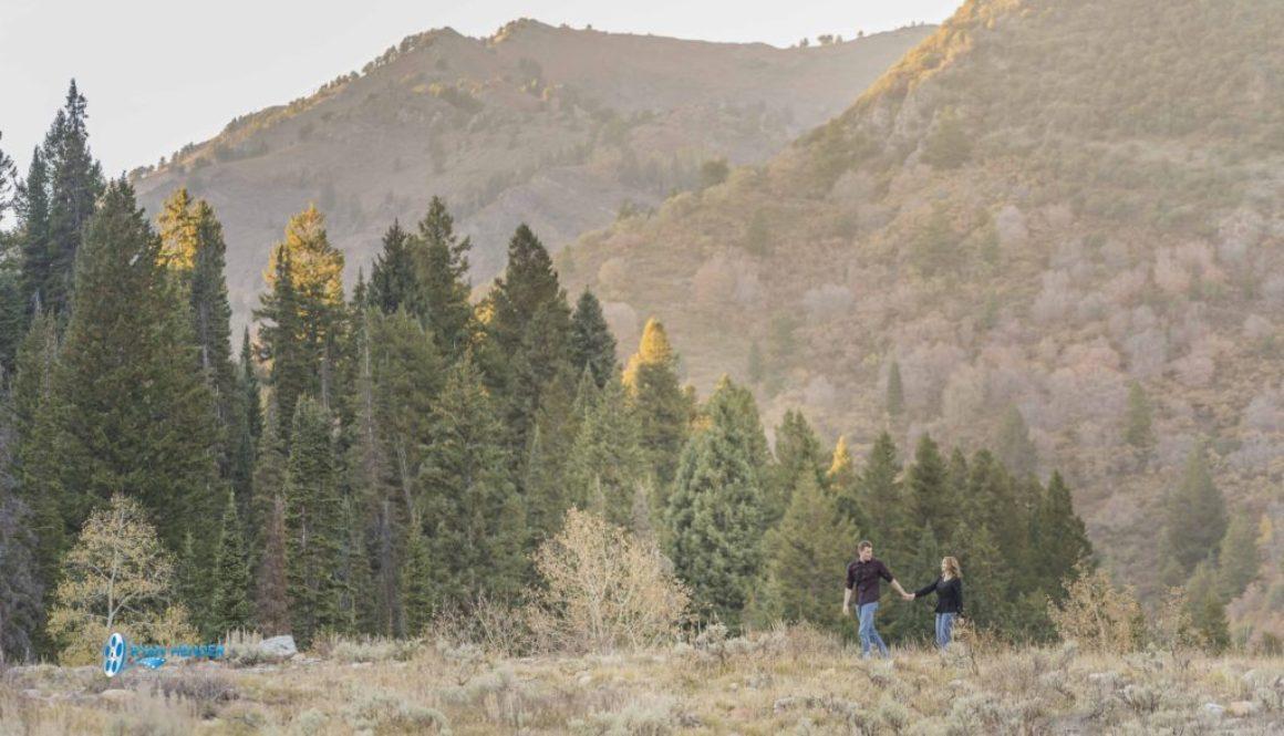 Here's To I Do – Engagement Photo Shoot Big Cottonwood Canyon Utah
