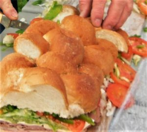now that is a sandwich to feed our  hardworking crew!