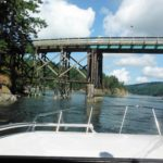 Bridge between South and North Pender Islands