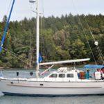 Branta anchored at Garrison Bay