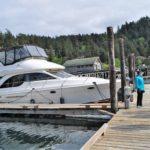 Graft's Truant docked at Rosario