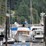 Docked at Otter Bay