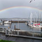 Rainbow captured by John Hauck
