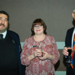 District 16 Commander Matt Lombardi & wife Pam & Commander Tom