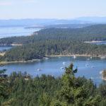 Mountain view of Garrison Bay