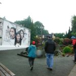 Lynchs and Grafts enjoy viewing the murals