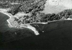 Original site prior to dredging of the John Wayne Marina
