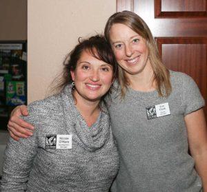 Kim Clark &  Nicole O'Hara - North Olympic Salmon Coalition