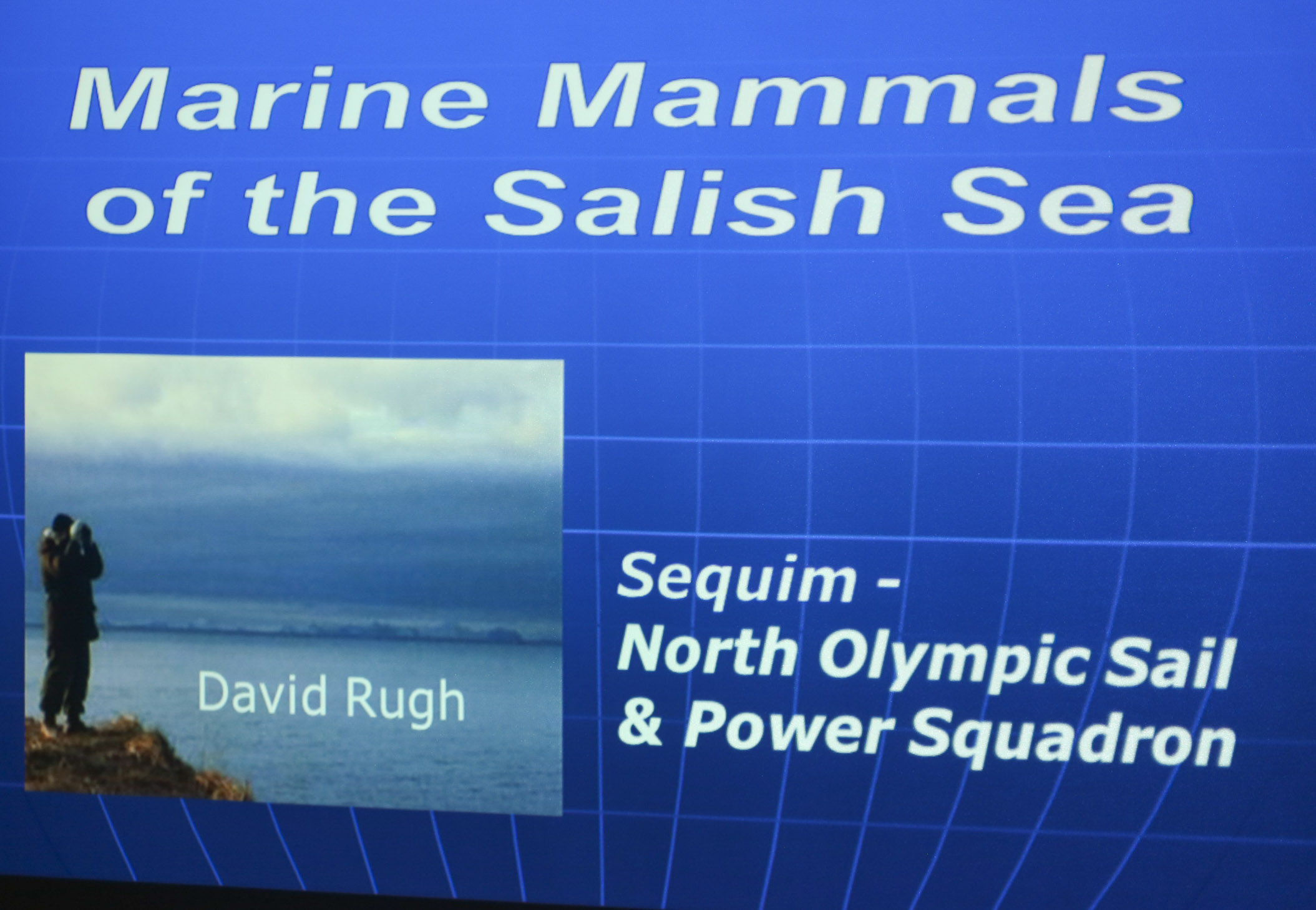 Slideshow of Marine by Speaker David Rugh