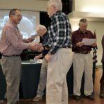 Ken/Andrea receives Engine Maintenance Certificate