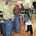 Patti G receiving Electronic Nav Certificate