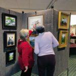Viewing Bob Stem's Paintings