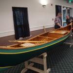 Beautiful Canoe built using Old Town Canoe pattern by Gordon Bilyard