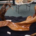 "Nila's ""Rogue Wave"" driftwood sculpture"
