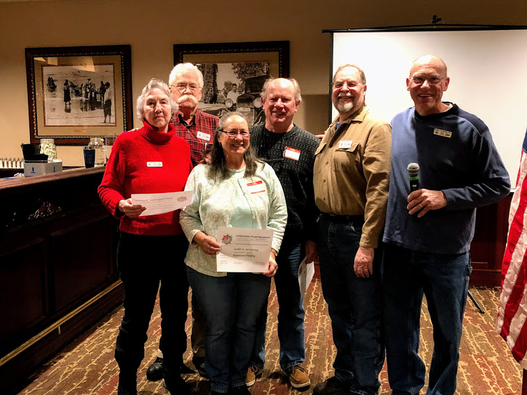 Advanced Piloting Certificates presented to Students