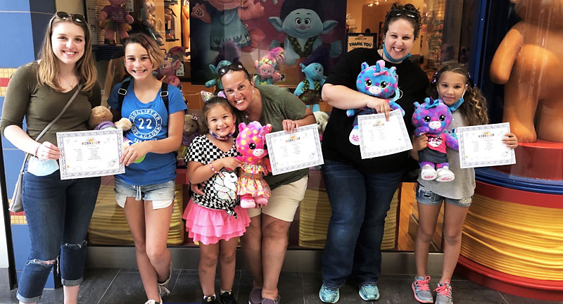 """Three South Windsor Sisters From One Family Are Being Mentored By Three """"Bigs"""" from Nutmeg Big Brothers Big Sisters"""
