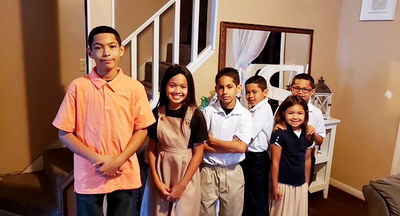 """Six New Britain Kids From One Family Are Being Mentored By Six """"Bigs"""" From Nutmeg Big Brothers Big Sisters"""