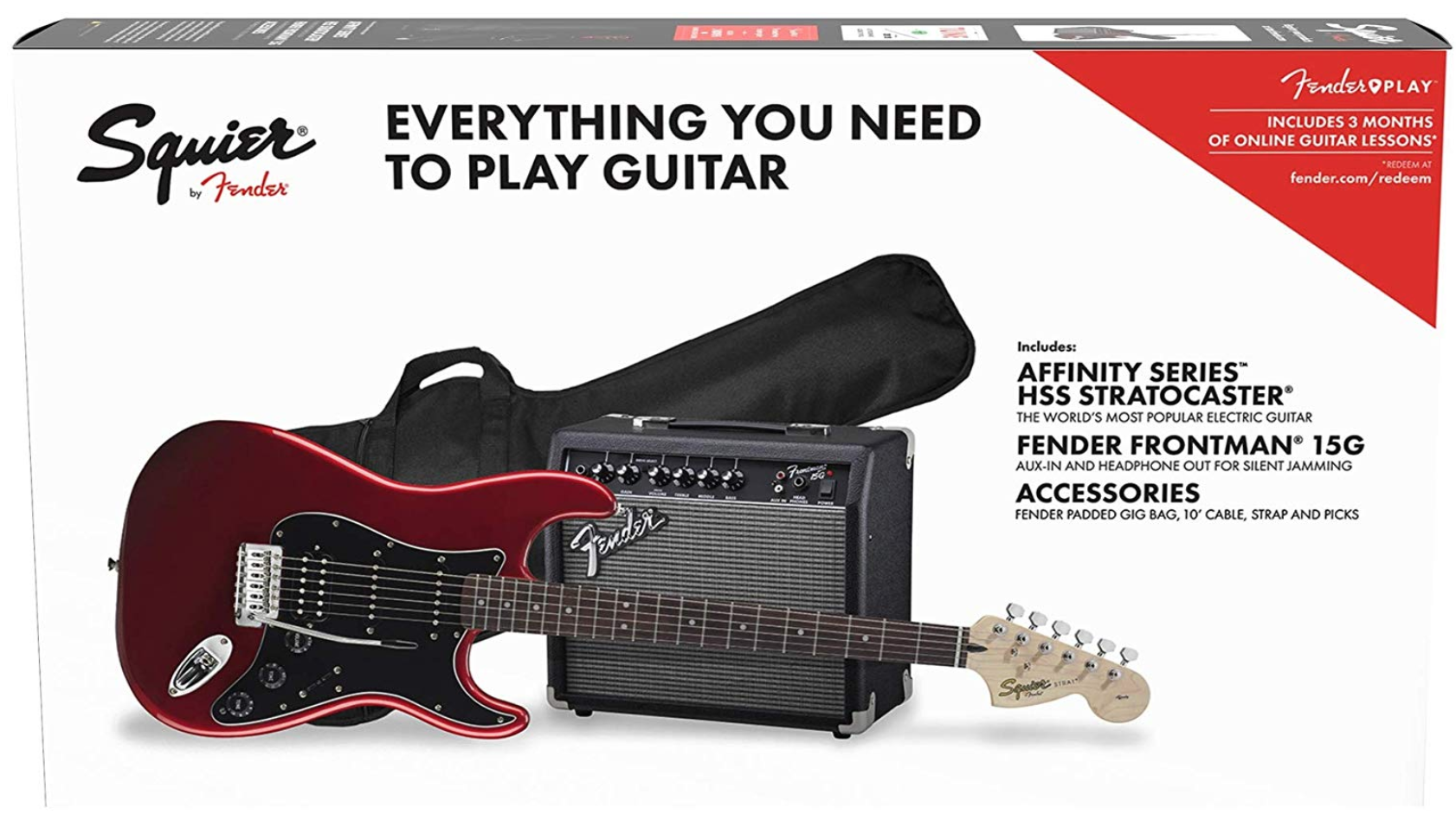 Fender Squire Player pack