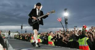 Angus young in concert