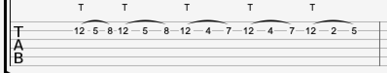 Finger tapping lick