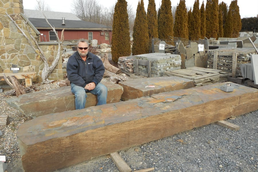 Bench Rock examples at Wicki Stone