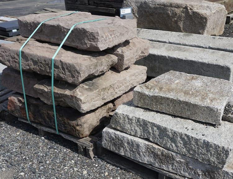 Reclaimed Stone Steps