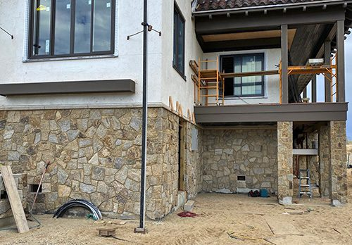 R-Stone Beachwood Mosaic Thin Veneer Stone
