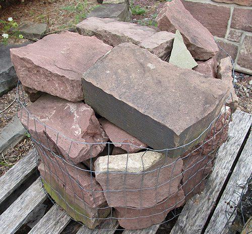 Split Brownstone Full Size Veneer Building Stone