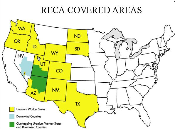 RECA Covered States