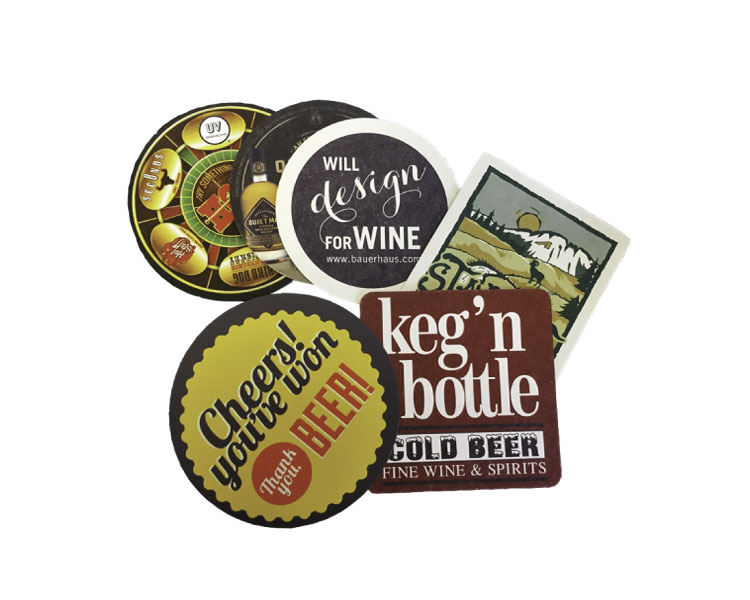 custom beer and brewery misc merch for craft breweries - Coasters