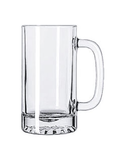 custom beer and brewery glassware & growlers for craft breweries - 16oz Glass Stein - 5092