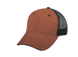 custom beer and brewery hats for craft breweries - GWT101M Mid Profile Structured Trucker Cap