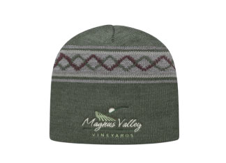 custom beer and brewery hats for craft breweries - JK9 Jacquard Knit Beanie