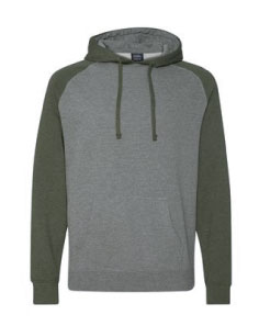 IND40RP Independent Trading Raglan Pullover Hoodie