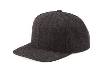 custom beer and brewery hats for craft breweries - Melton Wool Hat - 6689