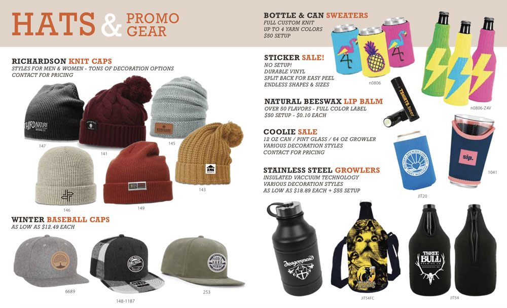 TSHIRTS.beer PRODUCTS ON SALE -  Tshirts Beer-Hats & More Promo Gear