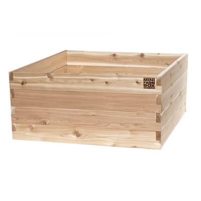 Raised garden bed 4x4x22