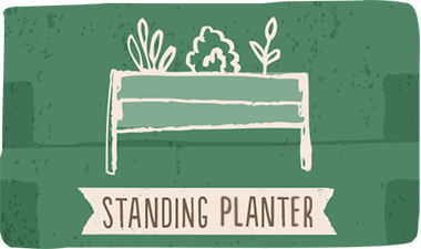 standing planters