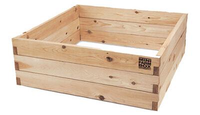 Raised garden bed kit 4 x 4 x 17'