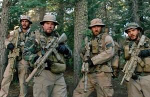"Taylor Kitsch, Mark Wahlberg, Ben Foster and Emile Hirsch star in ""Lone Survivor."" Photo Credit: Universal Pictures"
