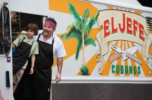 """Emjay Anthony and Jon Favreau star in """"Chef."""" Photo Credit: Open Road Films."""