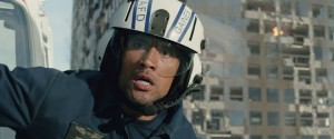 "Dwayne Johnson stars is ""San Andreas."" Photo credit: Warner Bros."
