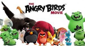 """Comedians Jason Sudeikis, Josh Gad, Maya Rudolph and Bill Hader star in """"The Angry Birds Movie"""" (voice-overs). Photo Credit: Sony Pictures."""